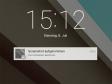 Neue Benachrichtigungen: Alle Info-Meldungen zu Mails, SMS oder anderen App-Aktivitäten stellt Android L direkt auf dem Sperrbildschirm dar, wo sie auch direkt anwählbar sind.