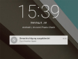 """Persönlicher Text für den Sperrbildschirm: Ein nettes Gimmick ist die Funktion """"Info zum Eigentümer"""", die allerdings schon aus älteren Android-Versionen bekannt ist. Nach der Eingabe erscheinen die persönlichen Angaben auf dem Sperrbildschirm."""