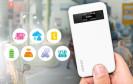 Der NAS-Hersteller Qnap präsentiert mit dem QGenie einen vollwertigen NAS im Smartphone-Format. Dank integriertem Akku und WLAN-Modul ist das NAS auch als Ladestation oder mobiler Router einsetzbar.