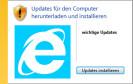 Nach Bluescreens und Systemabstürzen gesellt sich nun ein langsamer Internet Explorer dem Windows-Update-Fiasko hinzu. Ein Hotfix von Microsoft soll die Probleme beheben.