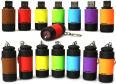 Die 18 Gramm leichte und laut Hersteller wasserdichte Mini-LED-Taschenlampe von COM-FOUR mit wiederaufladbarer Lithium-Batterie soll einen des Lichtstrom von 25 Lumen liefern.