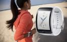 Frühstart die Zweite: Auch Samsung präsentiert seine neue Smartwatch bereits vor der IFA. Die Gear S kommt mit einem gebogenen AMOLED-Display und verfügt über einen SIM-Kartenslot.