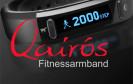 Fitness-Armbänder sind in diesem Jahr das Trendprodukt schlechthin, auch A-rival hat mit dem Qairos ein solches Gerät ins Programm aufgenommen. Wir haben das Gerät genauer unter die Lupe genommen.