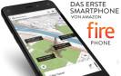 Der Online-Händler Amazon bringt sein erstes Smartphone, das Fire Phone, Ende September auf den deutschen Markt. Es wird nur mit Vertrag über die Kanäle der Telekom vertrieben.