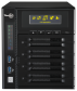 Administratoren stehen im Webinterface des Thecus N4800 Eco auch Profi-Features wie iSCSI-Unterstützung, Thin Provisioning oder NAS-Stacking zur Verfügung. Zudem bringt das Business-NAS einen freien PCIe-Steckplatz mit.