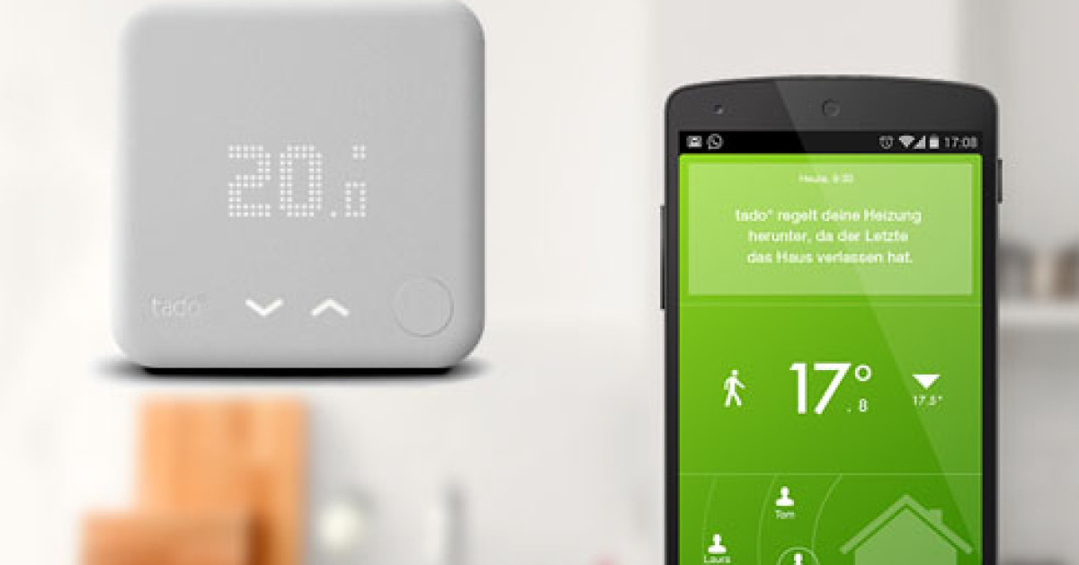 tado verbessert thermostat f rs smart home com professional. Black Bedroom Furniture Sets. Home Design Ideas