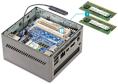 Arbeitsspeicher: Den meisten Mini-PCs ist das RAM eines Desktop-PCs zu groß. Benötigt wird spezieller Notebook-Speicher (SO-DIMM), der mit 1,35 Volt Spannung arbeitet.