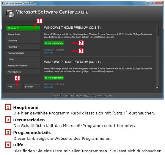 microsoft programme herunterladen
