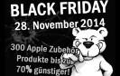 Am 28. November 2014 feiern zahlreiche Online-Shops den Black Friday Sale 2014. Mit dabei: Der Apple-Spezialversender Arktis.de mit Black-Friday-Preisaktionen und Rabatten von bis zu 70 Prozent.