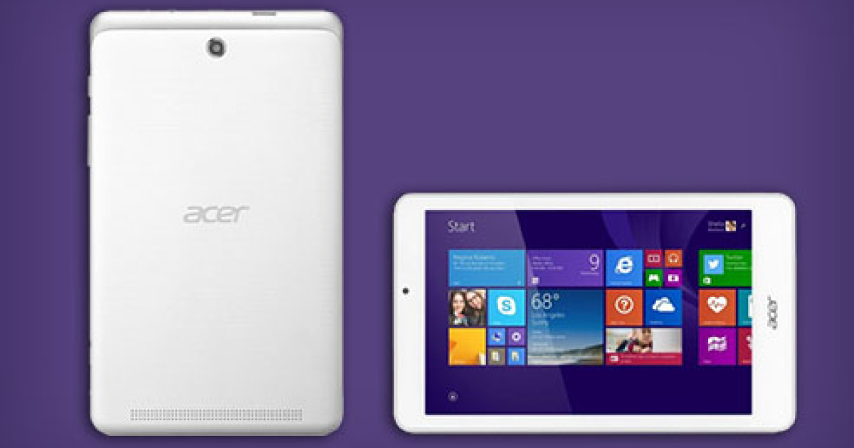 acer zeigt windows tablet iconia tab 8w com professional. Black Bedroom Furniture Sets. Home Design Ideas