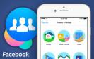 """Facebook bringt unter dem Namen """"Groups"""" eine weitere App für Gruppen heraus. Nutzer sollen damit schneller Inhalte mit ihren Freunden teilen."""