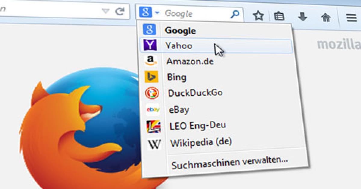 Startpage Als Standardsuchmaschine Firefox