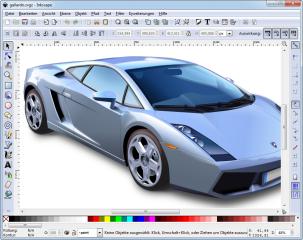 Inkscape ist ein vektororientiertes Zeichenprogramm. Im Gegensatz zu Bitmap-Bildern lassen sich die mit Inkscape erstellten Vektorgrafiken ohne Qualitätsverlust beliebig vergrößern und verkleinern.