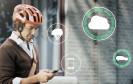 Volvo Cars und POC zeigen auf der CES 2015 ein lebensrettendes Technik-Konzept für Radfahrer. Das neue Sicherheitssystem vernetzt Rad- und Autofahrer miteinander, um Unfälle zu verhindern.