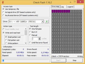 Flash Checker