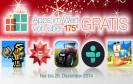 Der Amazon App Shop hat Weihnachtgeschenke für Android-Nutzer gepackt. Bis 26.12.2014 gibt es 40 kostenpflichtige Android-Apps im Wert von über 175€ gratis.