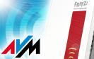 Der 1750E ist der erste AVM-Repeater, der gleichzeitig in den Frequenzbändern 2,4 und 5 GHz funkt. Dank schnellem WLAN-AC-Standard schafft der Repeater dabei bis zu 1.300 MBit/s.