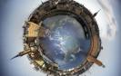Welt im 360 Grad Blick