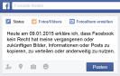 Facebook Copyright Post