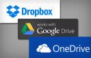 Dropbox Google Drive Microsoft OneDrive