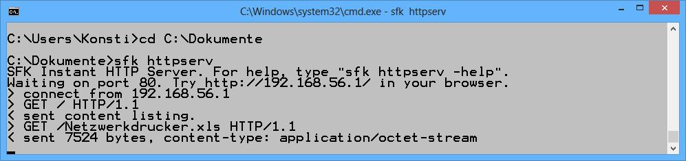 Server inklusive: Swiss File Knife verfügt über einen rudimentären FTP- und Webserver. Beide Server eignen sich beispielsweise für den schnellen Datenaustausch zwischen zwei Rechnern im lokalen Netzwerk.