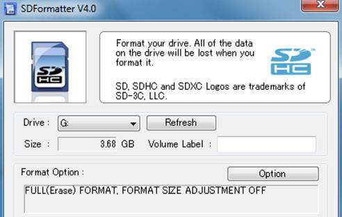 Sd Karte Lässt Sich Nicht Formatieren.Sd Sdhc Und Sdxc Karten Formatieren Com Professional