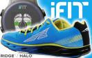 Die Sohle des smarten Laufschuhs Altra Halo ist mit Sensoren ausgestattet, über die Jogger und Trail-Runner ihre Laufökonomie sukzessive verbessern können.