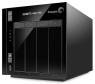 Im Inneren des Seagate NAS Pro arbeitet der 64-Bit-Dual-Core-Prozessor Intel Atom C2338 mit 1,7 GHz. Der Prozessor wird bei seinen Berechnungen durch 2 GByte Arbeitsspeicher unterstützt und als Betriebssystem nutzt Seagate das neue NAS OS 4.