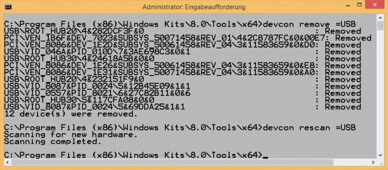 USB-Einstellungen unter Windows zurücksetzen - com! professional