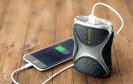 Akku leer? Kein Problem! Eine neuartige Powerstation mit Brennstoffzellen-Technologie nutzt Camping- oder Feuerzeug-Gas, um Smartphones und andere Geräte nachzuladen.