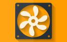 Icon / Symbol mit PC-Lüfter