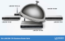 Lancom Systems zeigt die Router der 1781er-Serie.