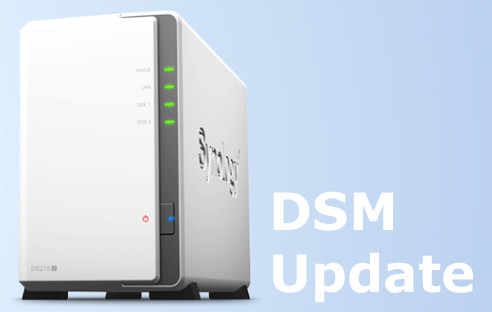 Synology DSM Update