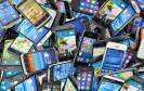 Smartphone Haufen