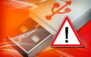 USB-Stick Warnung