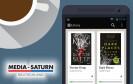 E-Book und Kaffeetasse