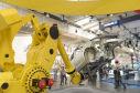 Roboterarm mit Auto