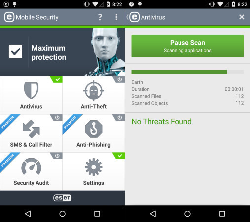 ESET - Mobile Security & Antivirus