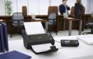 Dokumentenscanner im Büro