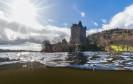 Loch Ness Aufnahmen Urquhart Castle