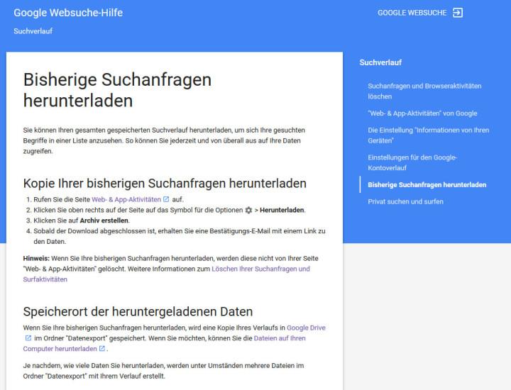 Google Suchverlauf Herunterladen Und Deaktivieren Com Professional