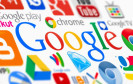 Google Logo mit Icons