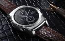 Edle Smartwatch mit Leder-Armband