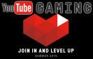 Youtube-Gaming Herz und Logo