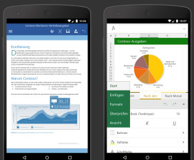 Office-Apps auf Android