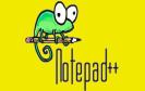 Notepad++ Logo in gelb