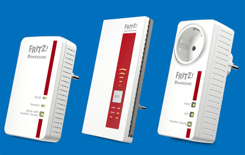 avm fritz powerline adapter wlan repeater com professional. Black Bedroom Furniture Sets. Home Design Ideas