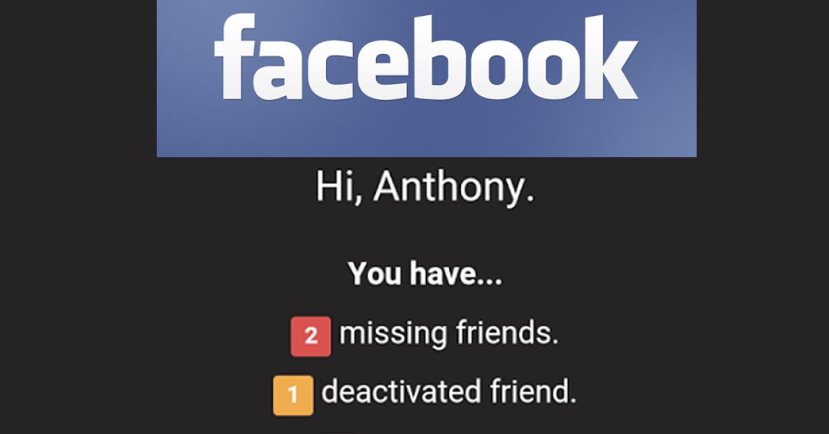 Wer hat mich auf Facebook gelöscht? - com! professional