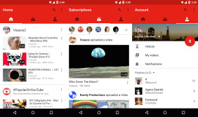 Neue Youtube-App unter Android