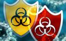 Antivirus Schild und Symbol